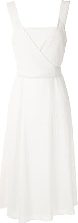 Alcaçuz Vestido Místico com amarração - Branco