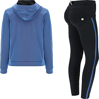 Freddy WR.UP-IN tracksuit with ankle-length sculpting trousers and a lurex sweatshirt