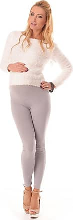 Purpless Maternity Leggings Pregnancy Belly Support Stretchy Long Over Bump Cotton Trousers for Pregnant Women 1000 (18, Light Gray)