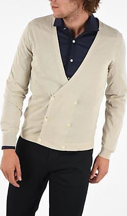 Corneliani ID Cotton Double Breasted Cardigan size 50