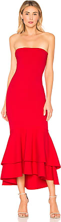Lovers + Friends Dillion Midi in Red
