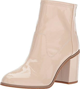 fadb300afb03 BC Footwear Womens Ringmaster Ankle Bootie Nude Patent 6 M US