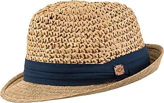 CHILLOUTS Unisex Fedora Hat Labasa Brown Blue