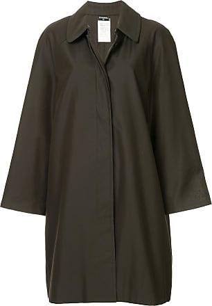 Chanel long sleeve coat jacket - Green