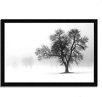 Tangletown Fine Art Reaching Out Framed Art Gray/Black/White