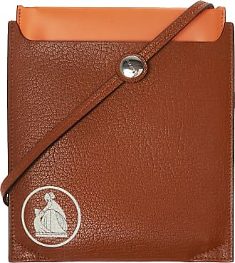 Lanvin Document Case Womens Brown