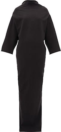 Rick Owens Pyramid Cotton-blend Cady Dress - Womens - Black
