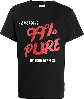 Nasaseasons Camiseta com estampa gráfica - Preto