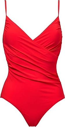 Ia Bon Wendy wrap swimsuit red