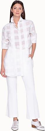Akris Oversize Transparent Blouse in Cotton Silk