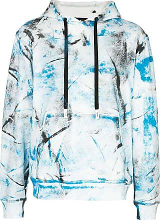 Haculla hand painted hoodie - Blue