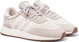 adidas Originals I-5923 Suede-trimmed Neoprene Sneakers - Neutral