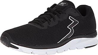 361° Mens 361-ENJECTOR Running Shoe, Black/White, 7 M US