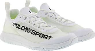 Polo Ralph Lauren Sneakers - Tech Racer Athletic Sneakers White/Black - white - Sneakers for ladies