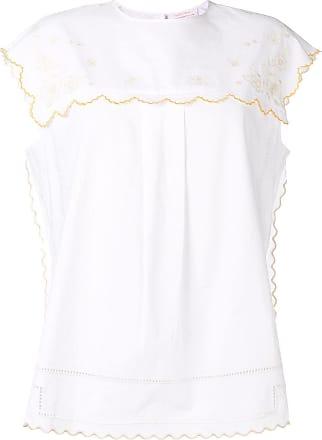 See By Chloé Blusa com bordado floral - Branco