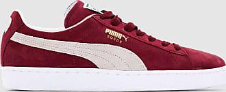 buy online 47093 f3466 Puma Baskets Suede Classic + - PUMA - Bordeaux - Blanc