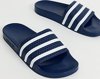 adidas Originals Adilette - Slider blu navy