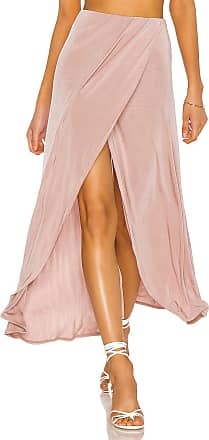 Free People Smoke And Mirrors Skirt in Taupe