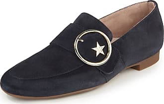 Paul Green Loafers in calf suede leather Paul Green blue
