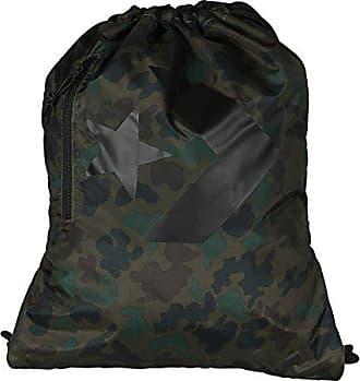 c3acfe15d387d Converse Unisex Turnbeutel Sport Freizeit Tasche Gym Bag Cinch Camo    Converse Black (camouflage)