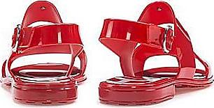 HUGO BOSS In Italien gefertigte Sandalen aus glänzendem PVC