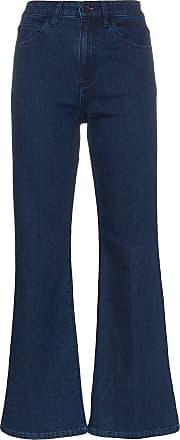 Eve Denim Calça jeans flare cropped Jacqueline - Blue