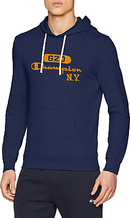 Champion Mens Hooded Sweatshirt Hoodie, Blue (Bli Bleu Bs503), M
