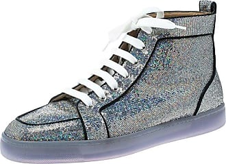 d5ad9c6b50bb Christian Louboutin Glitter Disco Ball Rantus Orlato High Top Sneakers Size  42.5