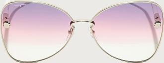 Salvatore Ferragamo Donna Occhiali Da Sole Gold/purple Rose Ivory Lens