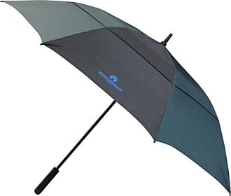 Weatherproof 67 Inch Auto Open Golf Umbrella with Vented Canopy, Blue/Black Combo, One Size