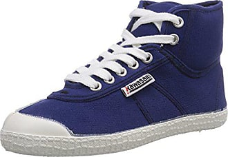 Baskets adulte 38 Kawasaki Basic hautes Rainbow Blau Bleu 90 Navy mixte qxApHB