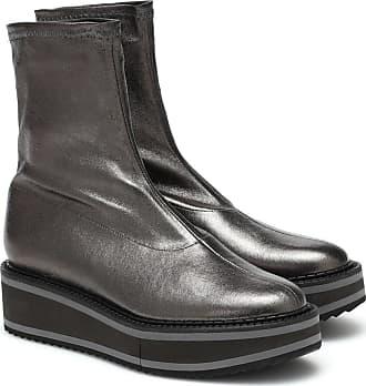 Robert Clergerie Ankle Boots Berta aus Leder