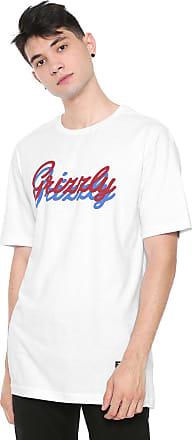 Grizzly Camiseta Grizzly Cursive Branco