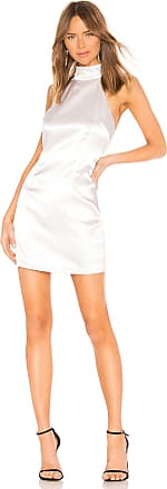 Superdown Debbie Tie Back Dress in White