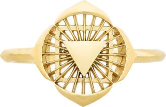 Zoe & Morgan Erster Chakra Gold Ring - MEDIUM - Gold