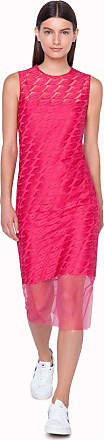 Akris Sheath dress with St. Gallen embroidery