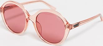 Quay Quay - Tinted Love - Runde Sonnenbrille in Rosa