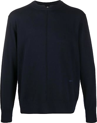 OAMC Navy blue merino wool jumper