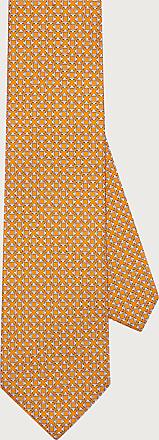 Salvatore Ferragamo Uomo Cravatta in seta stampa barchette Multicolore