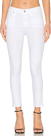 Citizens Of Humanity Rocket High Rise Crop Skinny in White
