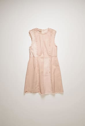 Acne Studios BK-WN-DRES000041 Dusty pink Recrafted denim dress