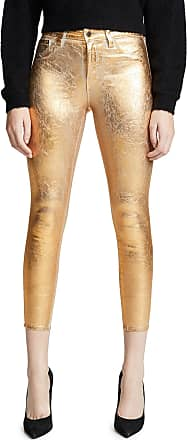 b5f458883ea1 L agence Margot High Rise Skinny with Crackle Foil
