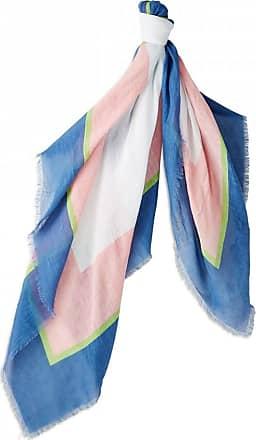 Bogner Jayne Scarf for Women - Blue/Pink/Green