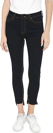 Calvin Klein Jeans Calça Jeans Calvin Klein Jeans Skinny Pespontos Azul-marinho