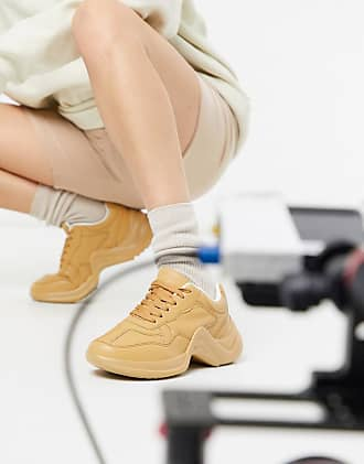 Missguided tonal trainer in camel-Tan
