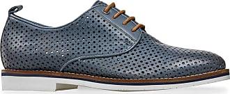 Van Dal Womens Hartley Wide E Fit Leather Flats, Denim, Size 7.5 UK