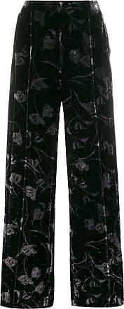 Diane Von Fürstenberg Calça pantalona - Preto