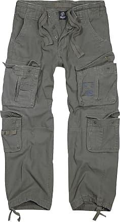 Brandit Pure Vintage Trousers - Herr-Cargo-byxor - oliv