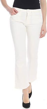 Pinko Christie bootcut jeans in white cotton
