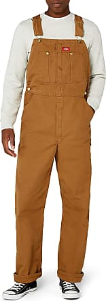 Dickies Mens Latzhose Bib Overall Smooth Bib Overall Workwear Overalls, Brown (Brown Duck), W42/L32 (Manufacturer Size: W42/L32)